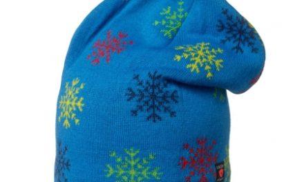 Isbjörn Snowflake Knitted Beanie – Hue – Blå – Str. 52-54