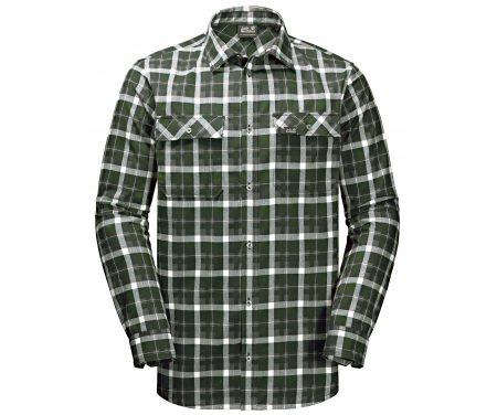 Jack Wolfskin Bow Valley Shirt – Skjorte herre – Tern Grøn