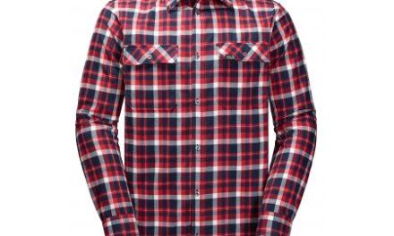 Jack Wolfskin Bow Valley Shirt – Skjorte herre – Tern Rød