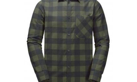 Jack Wolfskin Red River Shirt – Skjorte herre – Tern Grøn