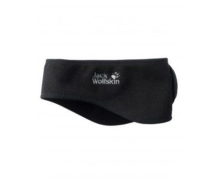 Jack Wolfskin Stormlock Headband – Pandebånd Vindtæt – Sort – OS