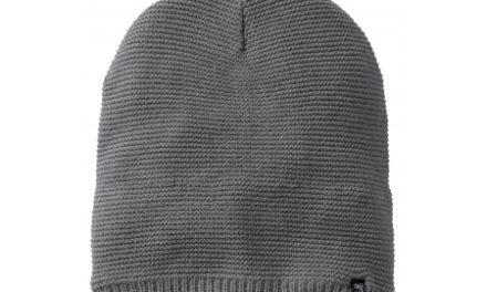 Jack Wolfskin Stormlock Knit Beanie – Hue Vindtæt – Grå – OS