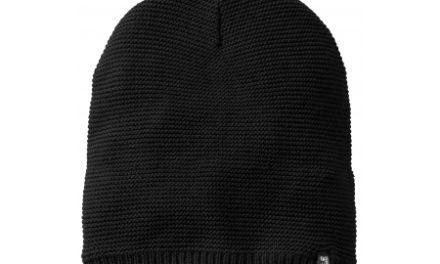 Jack Wolfskin Stormlock Knit Beanie – Hue Vindtæt – Sort – OS