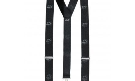 Jack Wolfskin Suspenders – Seler – Sort – OS