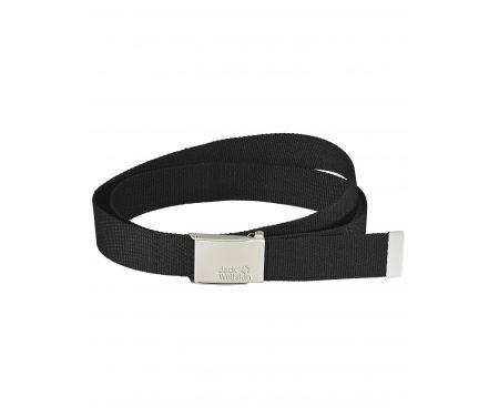 Jack Wolfskin Webbing Belt Wide – Bælte – Sort