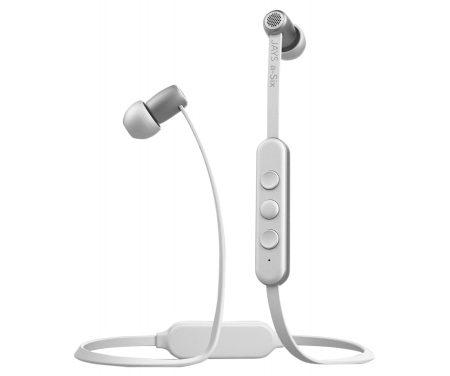 Jays a-Six Wireless – Trådløse høretelefoner – Hvid/sølv
