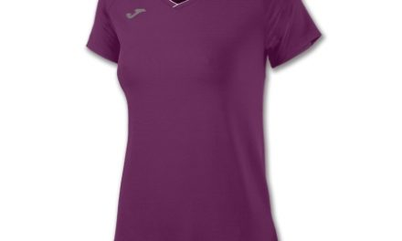 Joma – Løbe t-shirt S/S – Dame – Burgundy