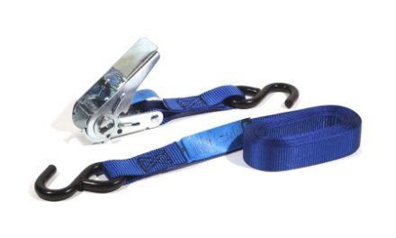 Jumbo bagagerem – Mekanisk spænde –  2-Delt- 500cm/25mm Blå