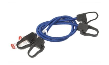Jumbo bagagestropper med nylonkroge – 60cm – 2stk – Blå
