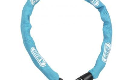 Kædelås Abus 1385 Tresor Med kode 85 cm blå
