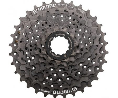 Kassette 8 gear 11-34 tands Shimano Altus Model CS-HG31