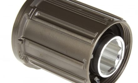 Kassettehus Shimano XTR og Dura Ace til 9 gear FH-M970 titanium