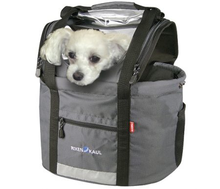 KLICKfix – Doggy – Grå 24 liter