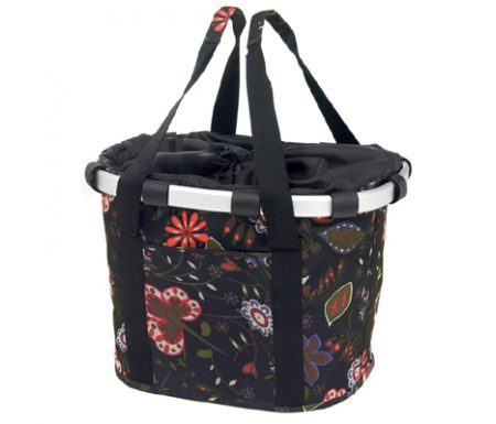 Klickfix – Reisenthel – Sort med blomster 15 liter