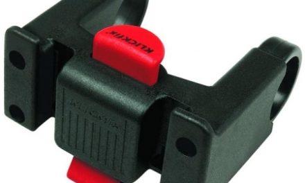 KLICKfix styradapter til kurv og tasker – Passer til styr på 22 – 31,8mm i diameter