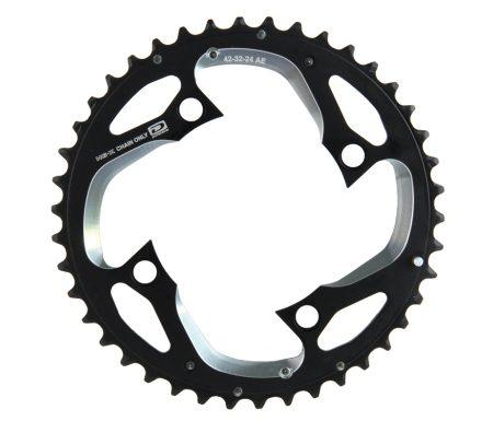Klinge 42 tands Shimano XT FC-M780 Triple 10 gear
