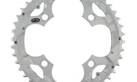 Klinge 44 tands Shimano Deore FC-M510 ø104mm 4 huls Sølv