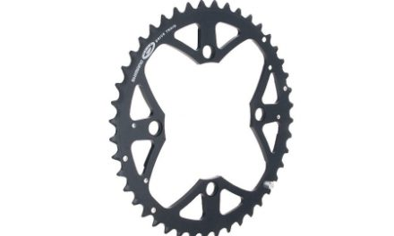 Klinge 48 tands Shimano XT FC-M761 og FC-M771 Triple 9 gear sort