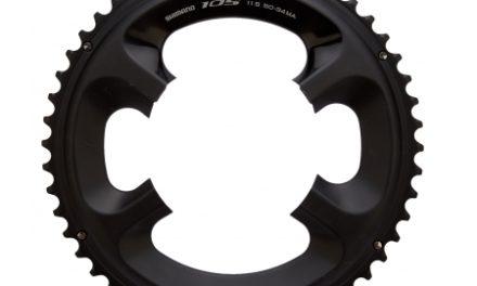 Klinge 53 tands Shimano FC-5800 Sort