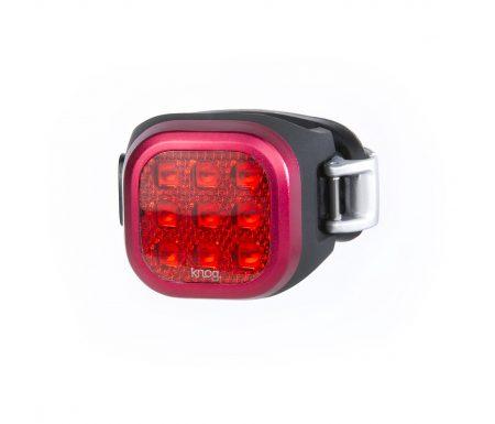 Knog – Cykellygte bag Blinder Mini Niner – Sort – USB opladelig