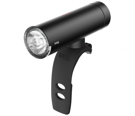 Knog – Cykellygte PWR Commuter – 450 lumen – Sort – USB opladelig – Powerbank funktion