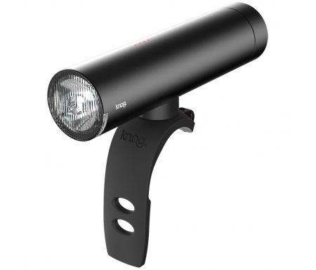Knog – Cykellygte PWR Rider – 450 lumen – Sort – USB opladelig – Powerbank funktion