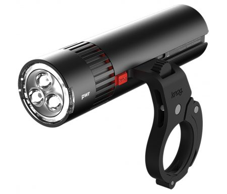 Knog – Cykellygte PWR Trail – 1000 lumen – Sort – USB opladelig – Powerbank funktion