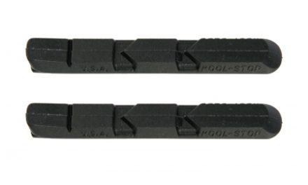 Kool Stop V-Type Black – Bremsegummi – Til V-bremser – Aluminiums fælge