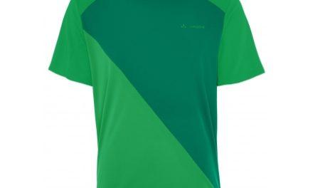 Kortærmet trøje til herrer – Vaude Moab – Grøn