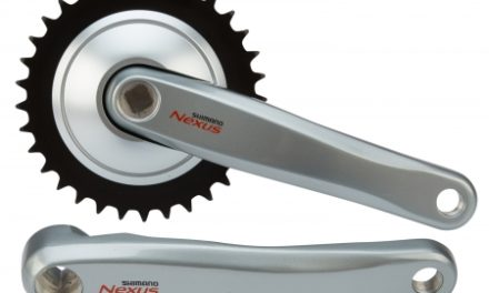 Kranksæt Shimano Nexus 33 tand 170mm