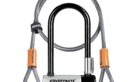 Kryptonite bøjlelås med wire – Kryptolok Mini 7 – U-Lock med Flex