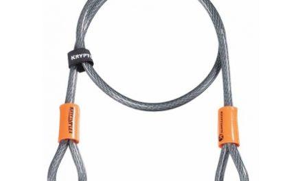 Kryptonite Looped – Kryptoflex 410 -Wire med løkker 10mmx120cm – Til kombination med låse