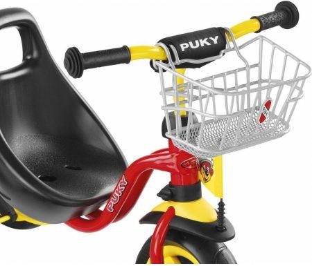 Kurv til styr for tricykel og løbehjul