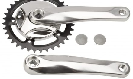 Lasco – Kranksæt – 170 mm – Alu arm med stålkædehjul