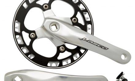 Lasco – Kranksæt – 170 mm – Sølv med sort disc
