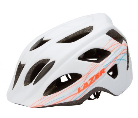Lazer – Cykelhjelm – Lily – Hvid/multifarvet – 55-59 cm