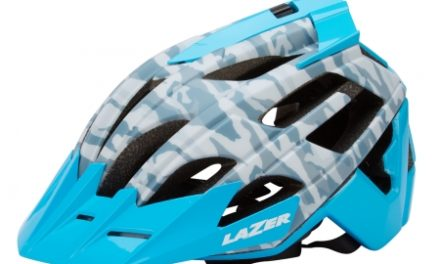 Lazer – Cykelhjelm – Oasiz – Matgrå camouflage blå – 55-59 cm