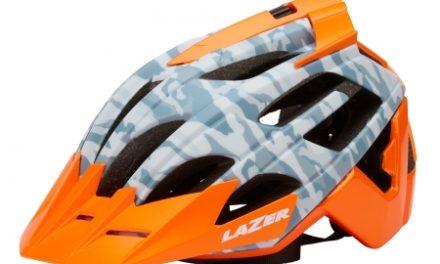 Lazer – Cykelhjelm – Oasiz – Matgrå camouflage orange – 55-59 cm