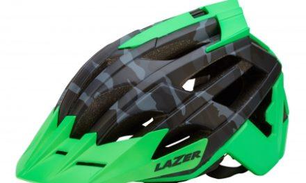 Lazer – Cykelhjelm – Oasiz – Matsort camouflage/grøn – 55-59 cm