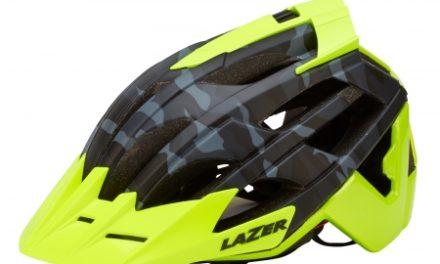 Lazer – Cykelhjelm – Oasiz – Matsort camouflage/neongul – 55-59 cm