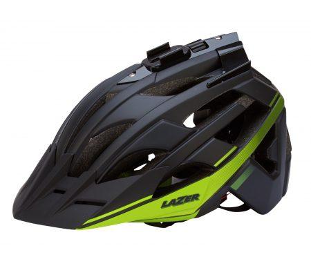 Lazer – Cykelhjelm – Oasiz – Sort/matgrøn