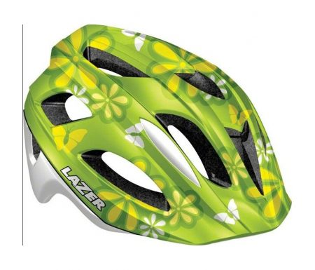 Lazer – Cykelhjelm – P'Nut Flower Green – 46-50 cm