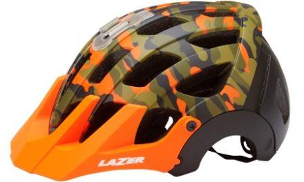 Lazer – Cykelhjelm – Revolution – Matorange/camouflage sort – 55-59 cm