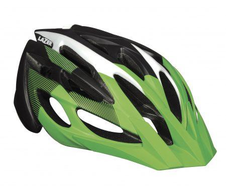 Lazer – Cykelhjelm – Rox – Matgrøn/sort – 62-64 cm