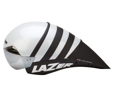 Lazer – Cykelhjelm – Wasp TT – Hvid/sort