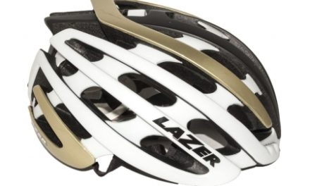 Lazer – Cykelhjelm – Z1 – Guld/hvid