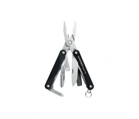 Leatherman Squirt PS4 – Multitool – 9 Funktioner – Sort