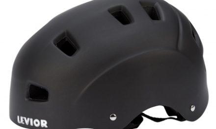 Levior cykel- og skaterhjelm 5Forty – Mat sort