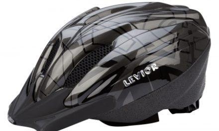Levior cykelhjelm Flitzi – Antracit Sort