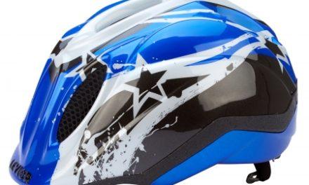 Levior cykelhjelm Primo – Blå Stars